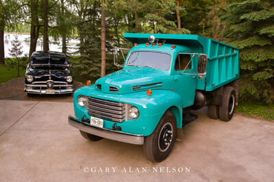 1950 Ford F-8 Dump Truck and a 1950 Ford