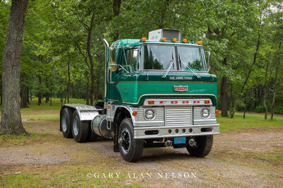 1966 Ford H Model with a 1673 240-hp Cat