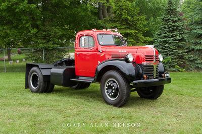 1947 Dodge WJA Semi Tractor