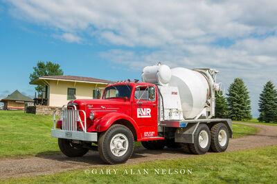 1951 Mack A-40 four cubic yard concrete mixer