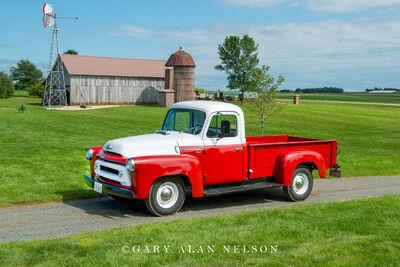 1956 International S 112 Pickup