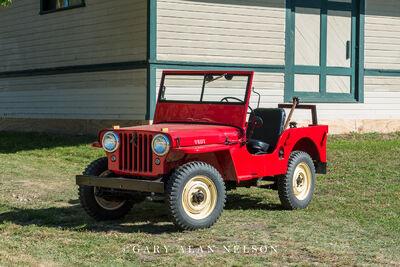 1946 Jeep CJ2A Agri Jeep