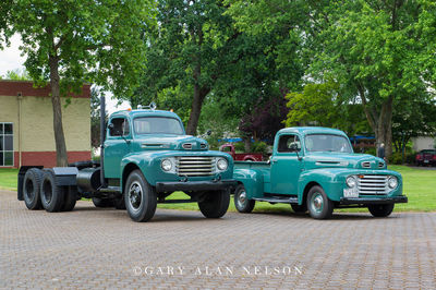 1949 Ford F-8 and 1949 Ford Pickup