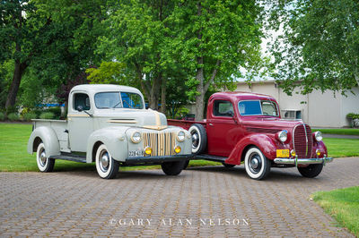 1947 Ford Pickup and 1949 Ford Pickup