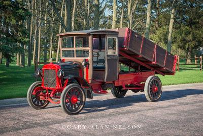 1922 Armleder Motor Truck Co. Model 30 1.5 ton dump truck