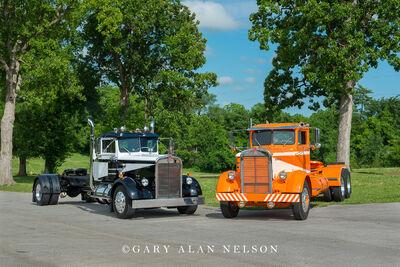 1955 Kenworth CC 825 & 1954 KenworthCC 5
