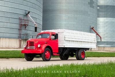 1952 REO Grain Truck