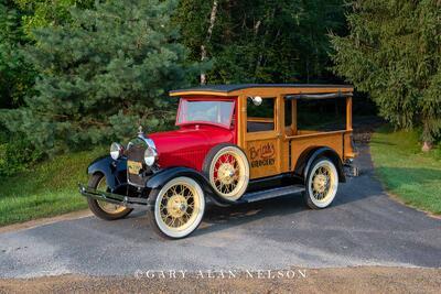 1929 Ford Model A Huckster