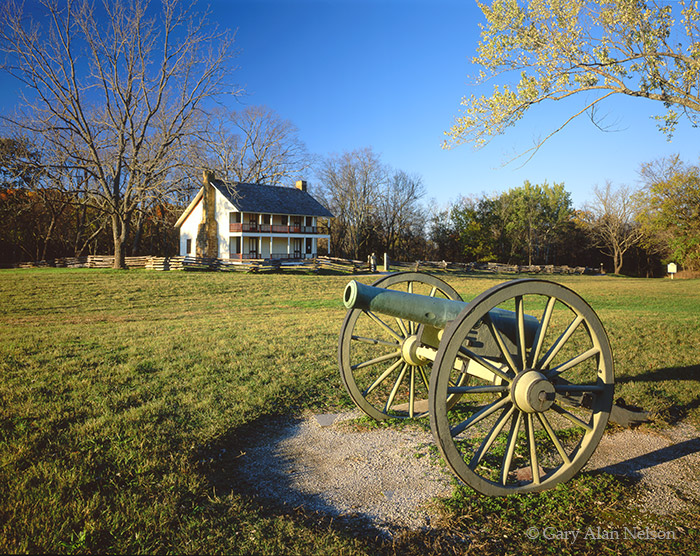 arkansas, national military park, canons, photo
