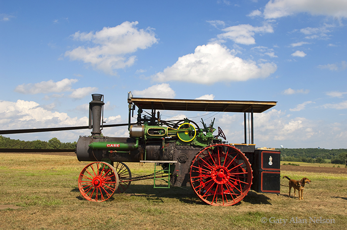 case, steam engine, photo