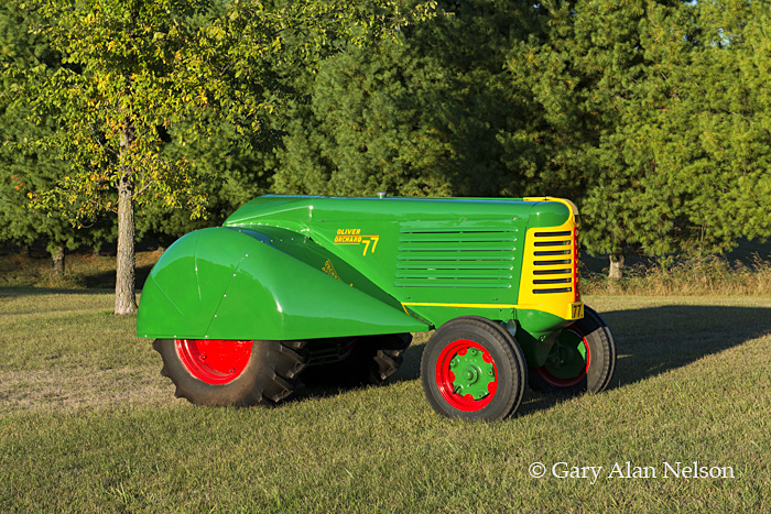 antique tractors,oliver, 77 orchard, photo