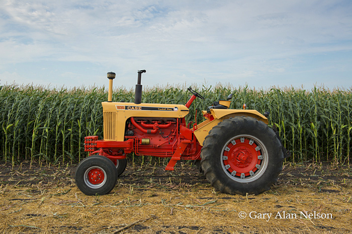 Case,antique tractor,1030 comfort king, photo