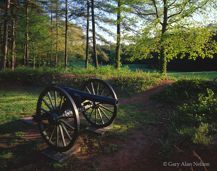 georgia, canons, national battlefield park, kennesaw, photo