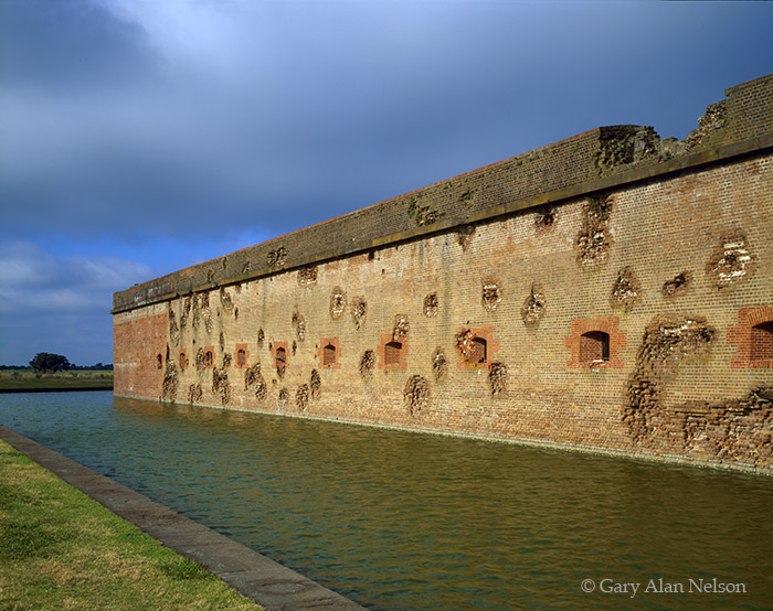 civil war, georgia, fort pulaski, national monument, photo