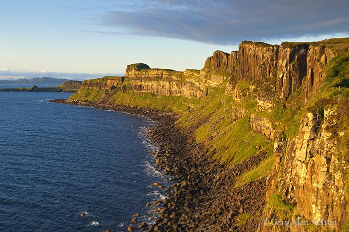 GB-11-131-SCO Kilt Rock ,Isle of Skye, Scotland