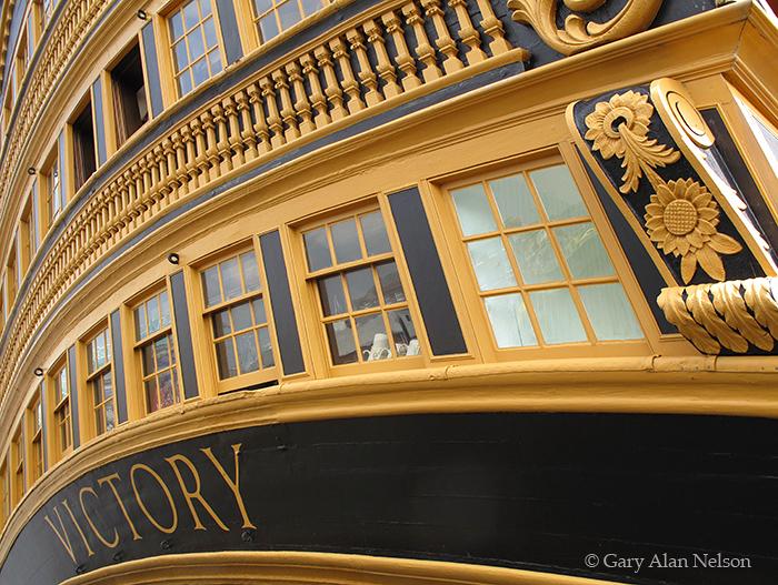 GB-11-195-ENG Historic Royal Ship HMS Victory, Portsmouth Historic Dockyard, England
