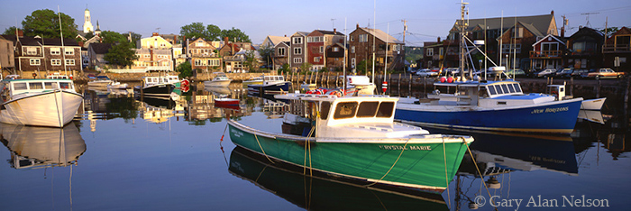 Massachusetts, fishing boats, harbor, photo