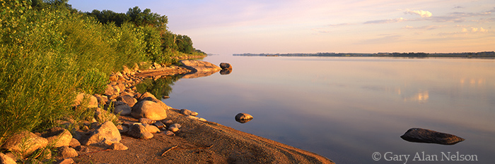 lac Qui Parle, state park, minnesota, lake, calm, photo