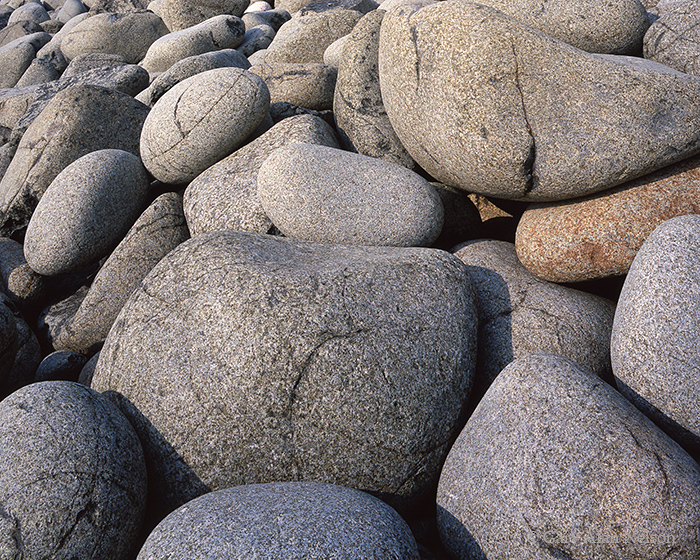 cobble boulders, lake superior, state park, minnesota, split rock, photo