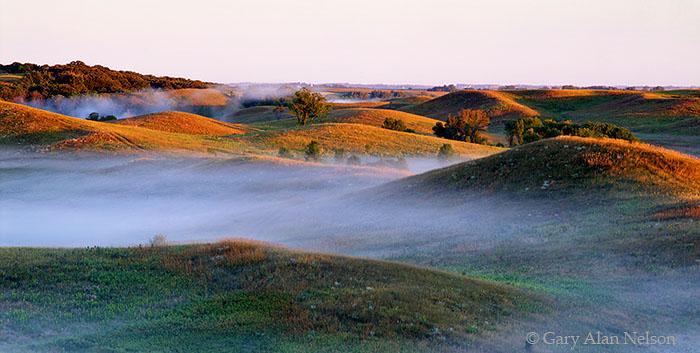 Leaf Hills, Minnesota, glacial landscape, photo