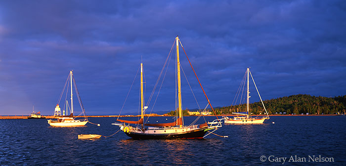Grand Marais, Lake Superior, Minnesota, harbor, photo
