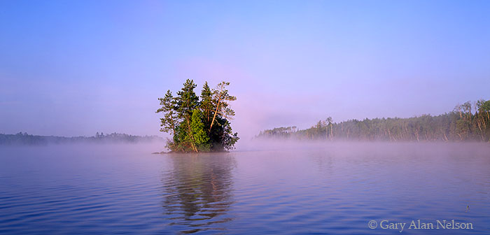 Bear Island State Forest, Minnesota, birch lake, island, photo