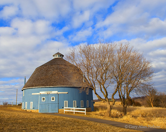 barn, round barn, minnesota, photo