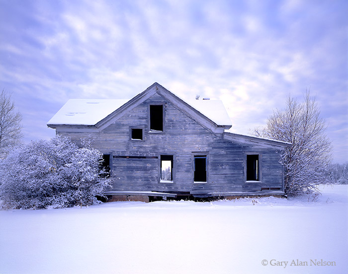minnesota, abandoned home,, photo