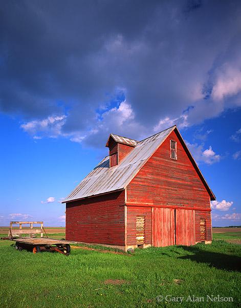 corn crib, minnesota, farm, photo