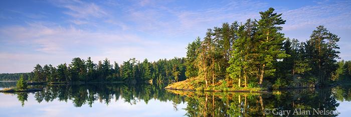 voyageurs national park, rainy lake, minnesota, photo