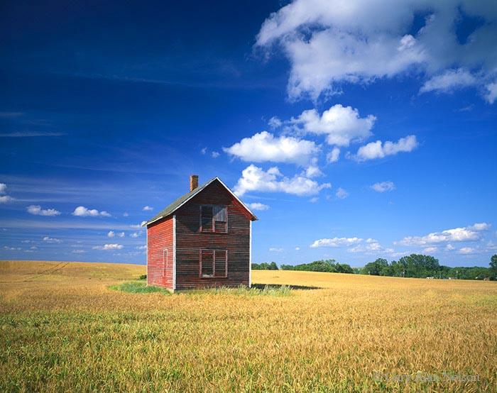 minnesota, otter tail, home,clouds, prairie, photo