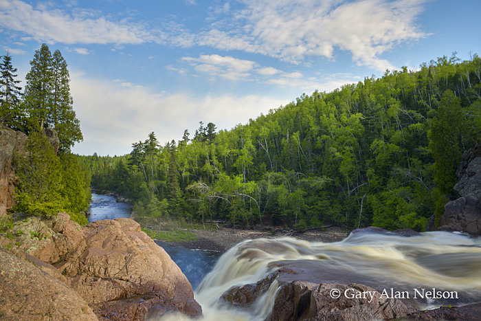 The High Falls of the Baptism River, Tettegouche State Park, Minnesota
