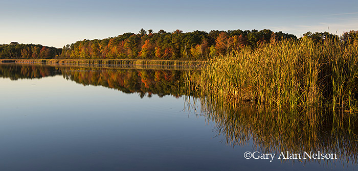 autumn,calm,lake,minnesota,reflections, photo
