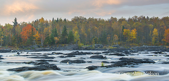 River,autumn,minnesota,state park, photo