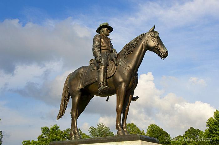 mississippi, vicksburg national military park, vicksburg, general U.S. Grant, photo