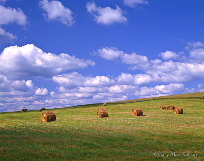 pennsylvania, straw, clouds, photo