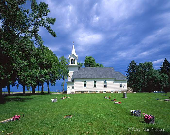 country church, south dakota, photo