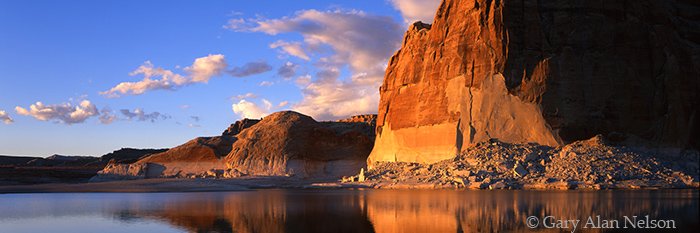 cliffs, glen canyon national recreation area, utah, photo