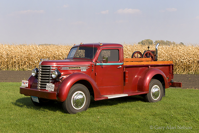 1949 Diamond T, pickup, photo