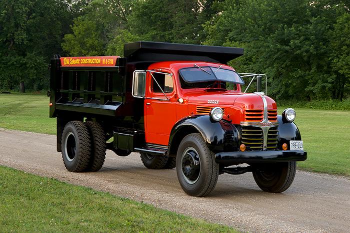 1947 Dodge 2.5-ton Dump Truck Model WJA 57, photo