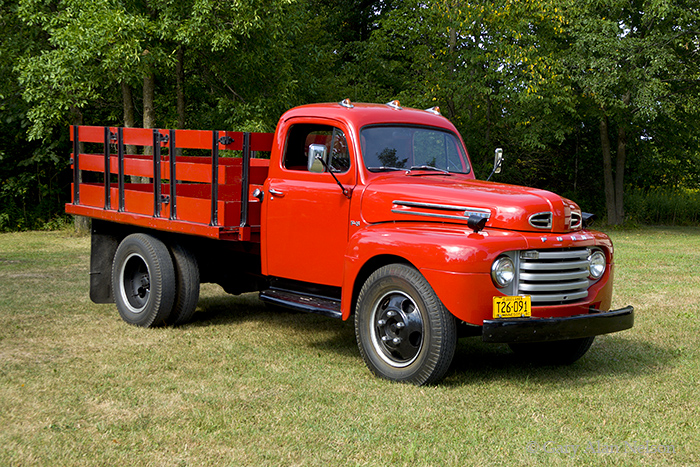 1950 Ford F 5 on antique trucks