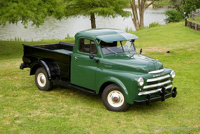 1950 Dodge Three Quarter Ton Model B Pic Gary Alan