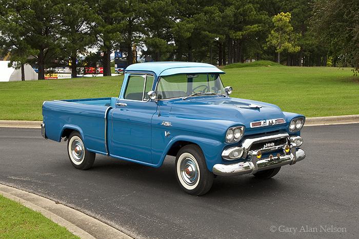 Gmc Truck For Sale >> 1959 GMC Suburban Pickup | | Gary Alan Nelson Photography