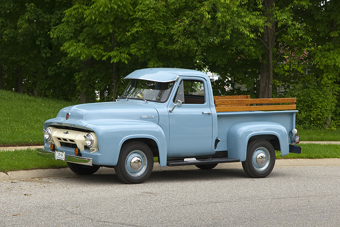 1954 Ford F-100 Cost Clipper Six Pick Up, photo