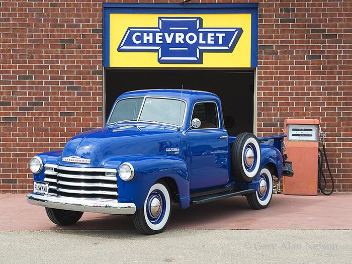 1949 Chevrolet 3100 5 Window Pickup Vt 12 51 Ch Gary
