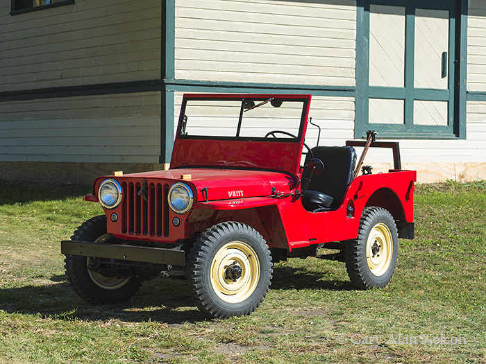 1946 Jeep CJ2A Agri Jeep | VT-12-88-JP | Gary Alan Nelson Photography