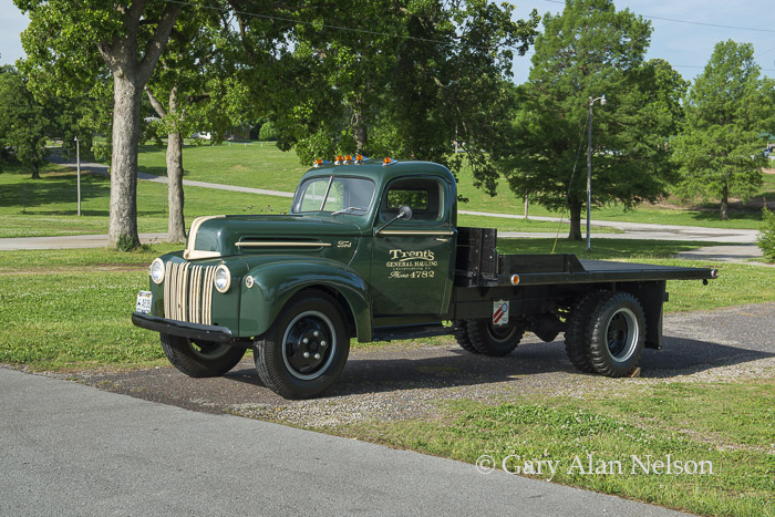 1945 Ford 1 5 Ton Flatbed Vt1434fo Gary Alan Nelson