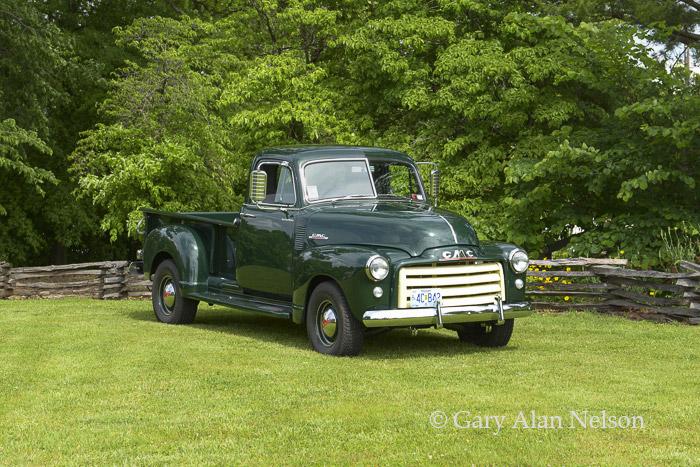GMC, pickup, photo
