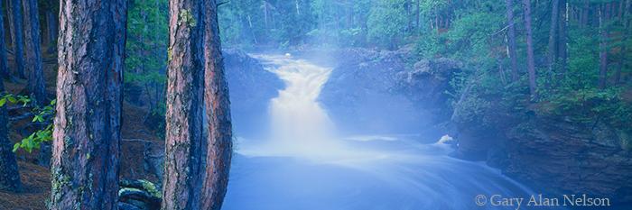 amnicon river, wisconsin, photo
