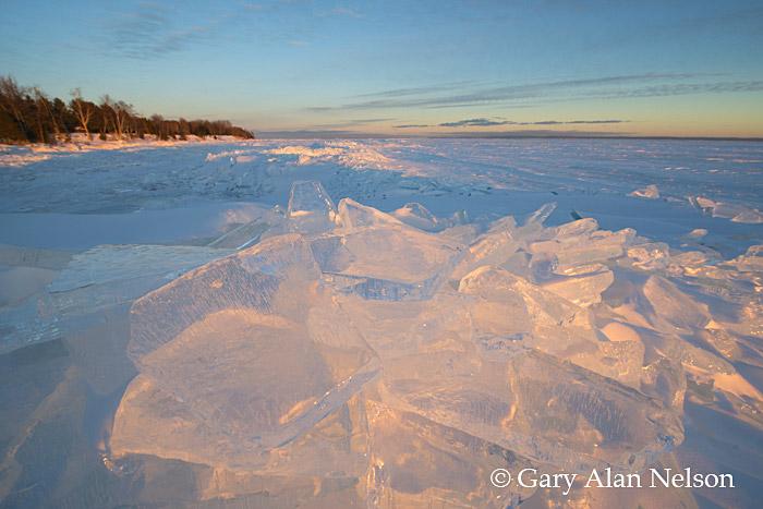 wisconsin, lake superior, ice, Madeline Island, Apostle Islands National Lakeshore, photo